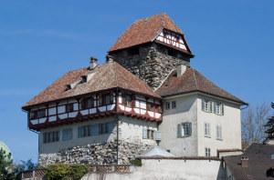 Die Lesung findet im Schloss Frauenfeld statt. (BIld: Roland Zumbuehl)