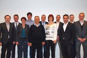 Die Kandidierenden der CVP-Bezirkspartei für die anstehenden Grossratswahlen. (Bild: zvg)