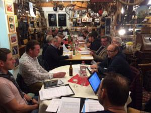 Die diesjährige Generalversammlung des Bottighofer Sportfischer Vereins. (Bild: zvg)