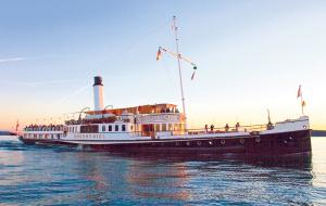 Die «Hohentwiel» – letztes grosses Dampfschiff auf dem Bodensee und Beispiel einer mustergültigen Restaurierung. (Bild: zvg)