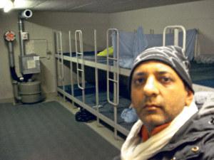 Shams Ul-Haq im «Kriegsbunker» des Feuerwehrdepots Ost. (Bild: zvg)