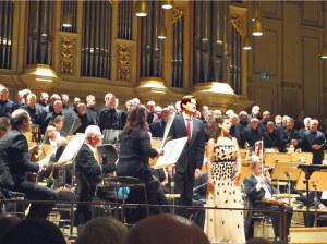 Die Südwestdeutsche Philharmonie, die Männerchöre Ermatingen und Kreuzlingen sowie die Solisten harmonierten perfekt zusammen.(Bild: zvg)
