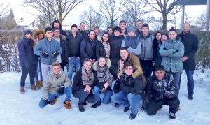 Die Klasse G3 der Sekundarschule Remisberg. (Bild: zvg)