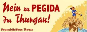 Die Juso wollen den Pegida-Anhängern entgegentreten. (Bild: Juso TG)