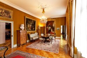 Blick in den Salon der Kaiserin im Schloss Arenenberg. (Bild: zvg)
