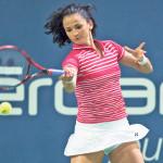 Amra Sadikovic ist höchstplatzierte Schweizerin. (Urs Lindt/freshfocus)