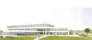 So soll das Herzzentrum in Münsterlingen dereinst aussehen. (Bild: zvg)