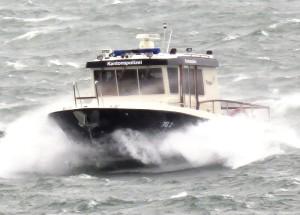 Die Seepolizei musste auch 2015 häufig ausrücken. (Bild: Kapo)