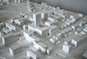 Bebauungsvorschlag für das Gebiet zwischen Löwen, Rathaus und Alterszentrum. (Bild: zvg)