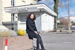 Wo früher Waren und Personen kontrolliert wurden, will Caroline Diop-Martins bald Sandwiches verkaufen. (Bild: ek)