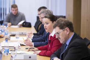 Regierungsrätin Carmen Haag berichtete als zuständige Chefin des Departements für Bau und Umwelt über den Stand des Generellen Projekts. (Bild: zvg)