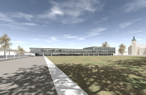 Visualisierung Stadthaus. (Bild: IDK)