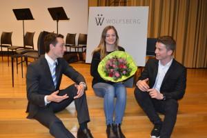 (V.l.) Tobias Schleusser, Fanny Almy, Fabio Schmid. (Bild: zvg)