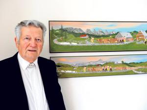 Emil Frei portraitiert Brauchtum. (Bild: zvg)