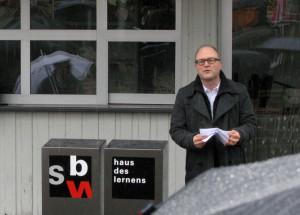 Reto Ammann von der SBW Haus des Lernens AG. (Bild: zvg)