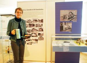 Museumsleiterin Heidi Hofstetter hat die neue Sonderausstellung konzipiert. (Bild: Thomas Martens)