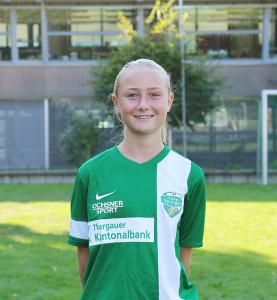 Fussball-Ausnahmetalent aus Scherzingen: Livia Schneider. (Bild: zvg)