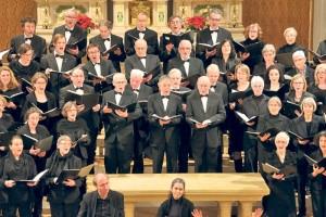 Der Oratorienchor Kreuzlingen in Aktion. (Bild: zvg)