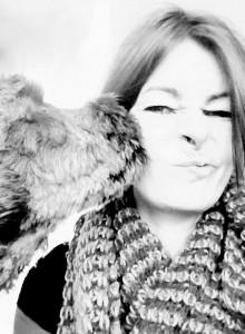 Carolin Hoffmann mit Willi. (Bild: zvg)
