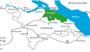 Die Regio Kreuzlingen zählt rund 45'000 Einwohnerinnen und Einwohner, die sich auf 14 Gemeinden verteilen. (Bild: www.regiokreuzlingen.ch)