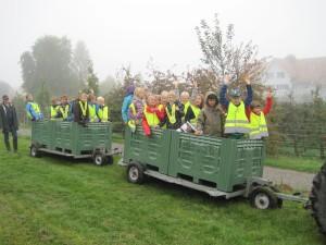 Gut unterwegs: Schülerinnen und Schüler an der Schule Salenstein. (Bild: zvg)