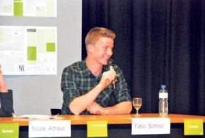Kanti-Schüler Fabio Schmid.