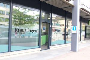 Die Tür bei Kreuzlingen Tourismus steht das ganze Jahr für Besucher offen. Am Donnerstag wird ein Frühlingsapéro serviert. (Bild: zvg)