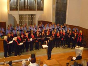Die Chorgemeinschaft Salmsach-Langrickenbach. (Bild: zvg)