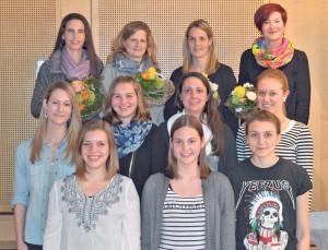 Die langjährigen Turnerinnen wurden geehrt. (Bild: zvg)