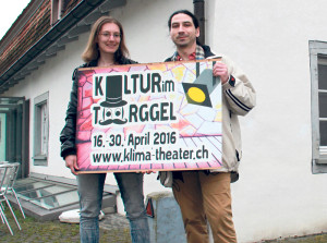 Eveline Ketterer und Dietmar Paul vom Kulturverein klima. (Bild: ek)
