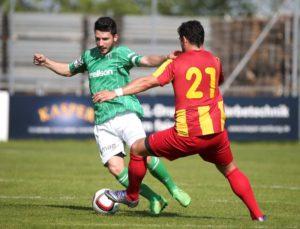 FC Kreuzlingen (Gruen) gegen FC Rueti auf der Sportanlage Hafenfeld Kreuzlingen. (FOTO GACCIOLI KREUZLINGEN)