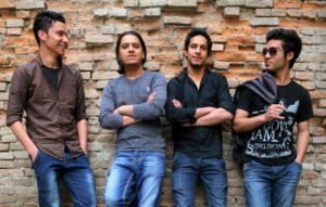 White Page: Maqsood Sadid, Ratib Ramish, Hojat Hameed und Reshad Afzali. Photo: Daniel J Gerstle/Humanitarianbazaar.org)