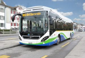 Hybridbus der Stadt Kreuzlingen. (Bild: zvg)