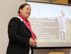 Regierungsrätin Carmen Haag bezeichnete die Expo 2027 auch für die Region Kreuzlingen als grosse Chance. (Bild: zvg)