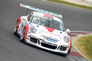 Frommenwilers zweite Saison im Porsche Supercup steht an.(Bild: Porsche)