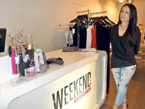 Inhaberin Nuray Bulut in ihrem neuen Laden an der Hauptstrasse.(Bild: pd)
