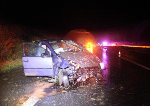 Beim Unfall wurde der Fahrer aus dem Wagen geschleudert. (Bild: Kantonspolizei Thurgau)