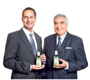Wechsel in der Firmenleitung: Lucas und Marco Baumann.(Bild: rausch.ch)