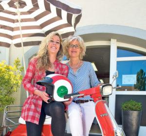 Mit Jolanda Brunner (r.) und Sabrina Menis (l.) fährt man gut. (Bild: zvg)