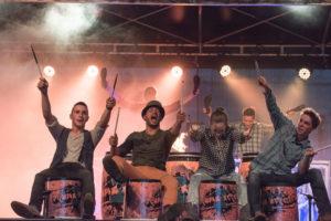 Drums2Streets haben schon viele grosse Bühnen gerockt. (Bild: zvg)