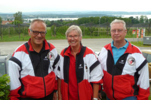 OK-Ausschuss: Erwin Imhof, Gisela Cerny und Marco Graf (v.l.). (Bild: zvg)
