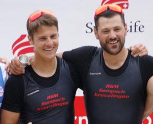 Nico Stahlberg (r.) und Roman Röösli sind gut in Form. Bild: zvg