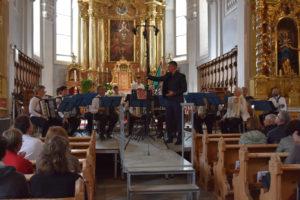 In der Dorfkirche Disentis. (Bild: zvg)