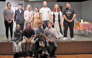 Die Theatergruppe der Kanti Kreuzlingen. (Bild: zvg)