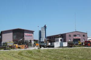 Das Gelände, als noch Betrieb herrschte. (Bild: Emil Keller)