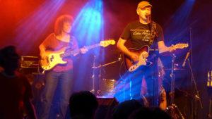 """Bluesrock live mit """"Schwester Gaby"""". (Bild: zvg)"""
