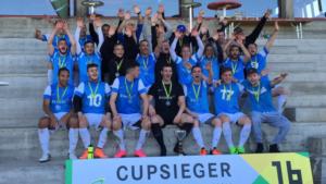 Mit dem Sieg im Cupfinal des Ostschweizer Fussballverbandes hat sich der AS Calcio für die Hauptrunde des Schweizer Cups qualifiziert. (Bild: zvg)