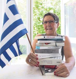 Stadträtin Barbara Kern geht nicht ohne Bücher in die Ferien.(Bild: zvg)