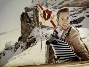 Marc Trauffer ist der Alpentainer. (Bild: zvg)