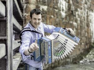 Aus Österreich kommt Marc Pircher mit dem Akkordeon. (Bild: zvg)